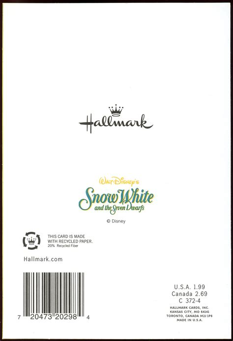 Filmic Light - Snow White Archive: Dwarfs Get-Well-Soon ...