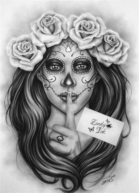 Pin by Sxymexi on day of the dead | Pinterest | Arte, Tatuajes and Arte gráfico