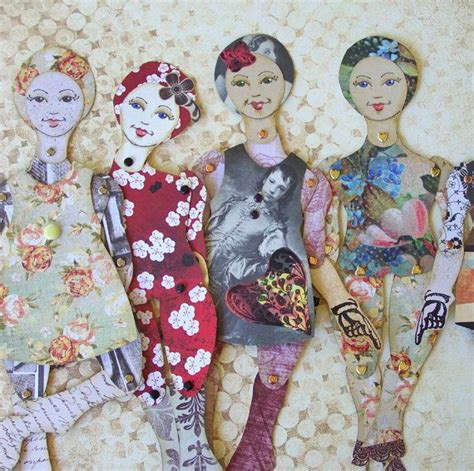 jointed paper doll limited edition   blossom