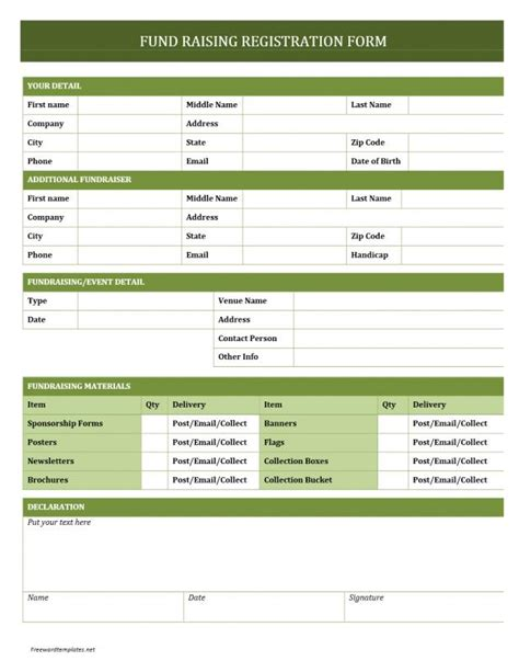 Html Form Templates Registration Form Template Template Business
