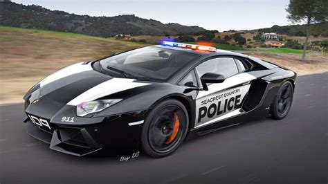 Police Lamborghini Aventador Gta 5 Car Mod Youtube