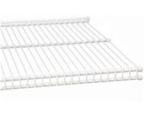 schulte wire closet shelving 16 quot d x 24 quot w ventilated shelf white by schulte 15 94