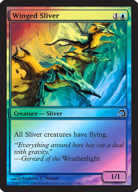 mtg sliver deck list premium deck series slivers magic the gathering