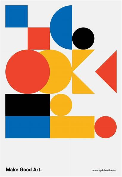 Graphic Minimalist Bold Satisfying Posters Designtaxi Gifs