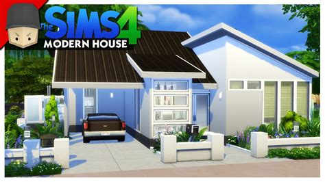 small modern house  sims  house building keralis