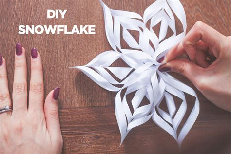 flocon de neige en papier decoration de noel en papier flocon