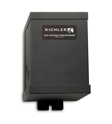 kichler lighting transformer 12v 300w cabinet accessory in