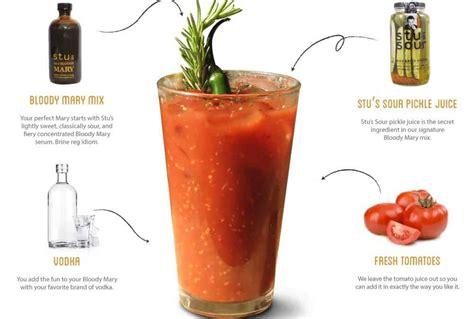 bloody ingredients ultimate list of bloody mary ingredients for perfect bloody marys