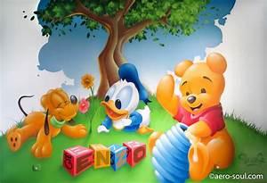 Chambre Bébé Disney : d coration graffiti chambre enfant enzo et les b b s disney ~ Farleysfitness.com Idées de Décoration
