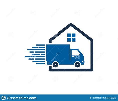 Home Delivery Logo Icon Design Stock Vector - Illustration ...