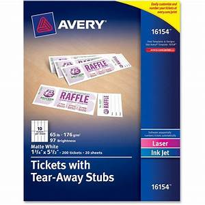 avery printable raffle tickets search results new With avery templates raffle tickets