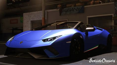 Lamborghini Huracan Modification by Gta 5 Lamborghini Huracan Performante Spyder Mod