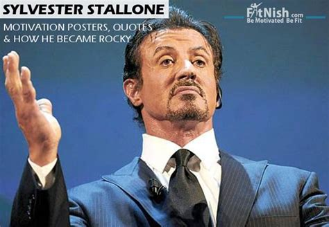 sylvester stallone motivation posters quotes