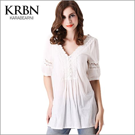 summer tops and blouses white lace blouse womens tops fashion 2015 summer
