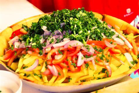 recette de cuisine allemande recette malgache salade de mangue
