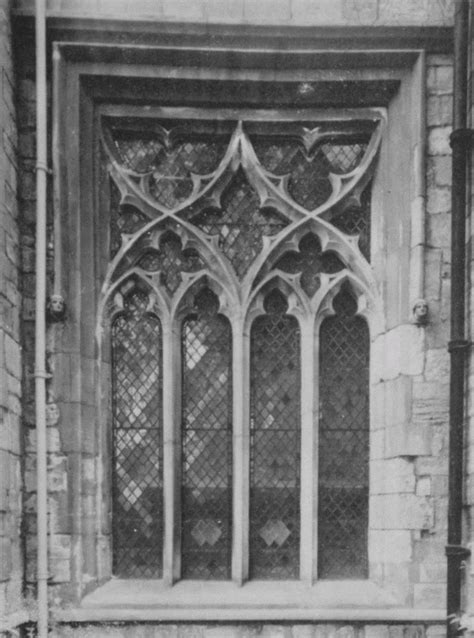 Plate 25: Church Windows, 14th, 15th and 16th-Century