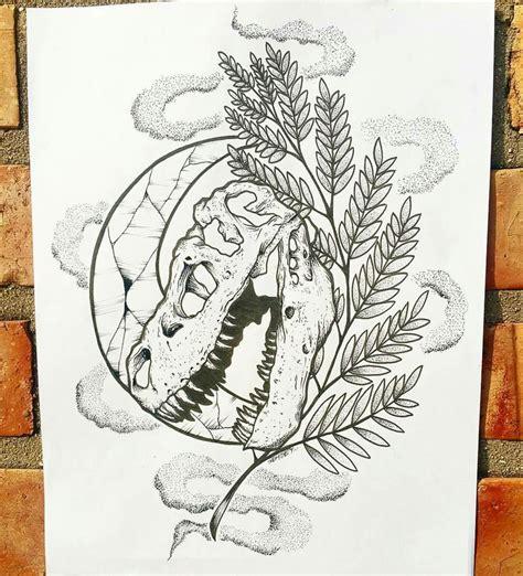Simple Design Tattoo Crystal Wood Nature Leaf Tree Plant