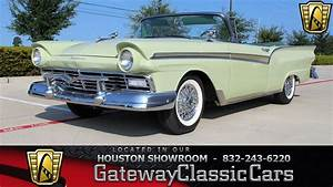 1305 Hou 1957 Ford Fairlane Convertible