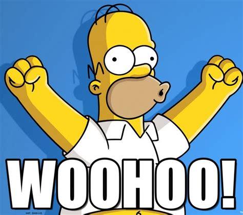 Homer Simpson Meme - woohoo homer uhu meme on memegen