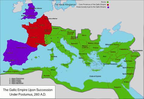 Filemap Of The Gallic Empire 260 Ad Wikipedia