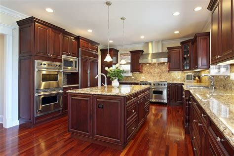 kitchen colors  brown cabinets home furniture design