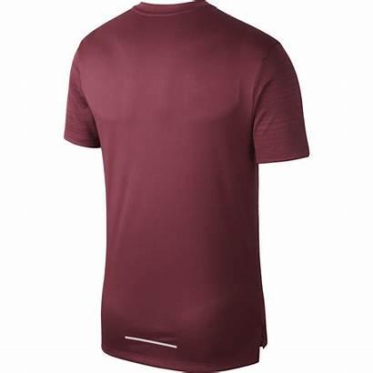 Nike Dri Running Shirt Miler Sleeve Short
