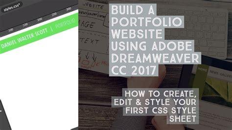 create edit style   css style sheet
