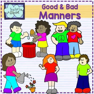 manners for kids clipart images clipart good and bad manners multicultural kids