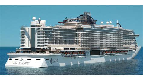 MSC Seaside bookings open: Travel Weekly