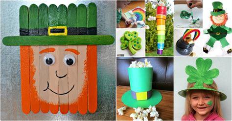 fantastically fun st patricks day crafts  kids