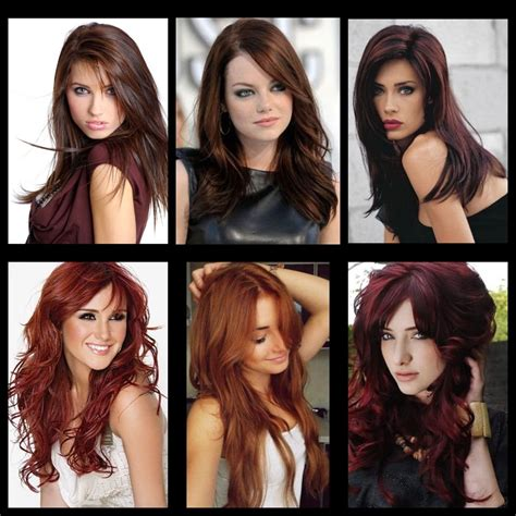 Different Types Hair Colors by Musely
