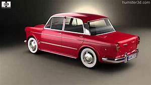 Fiat 1200 Granluce 1957 By 3d Model Store Humster3d Com