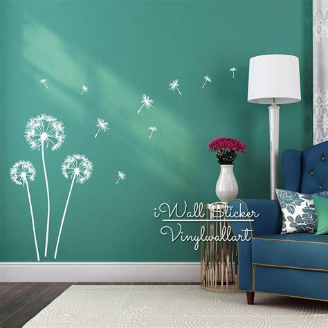wall beautiful dandelion wall decal  bring  room