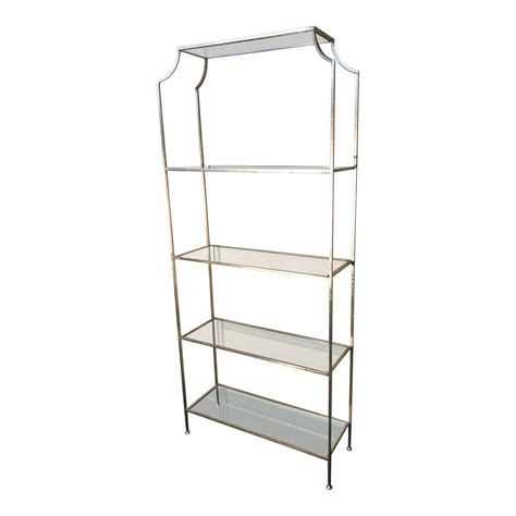 Silver Etagere by Antiqued Anthem Home Silver Etagere Original Price