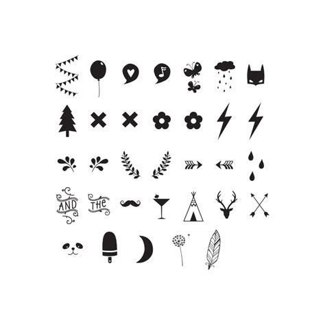 kleine symbole symbole zahlen f 252 r lovely lichtbox das kleine zebra