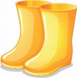 The yellow rubber boots - | Clipart Panda - Free Clipart ...
