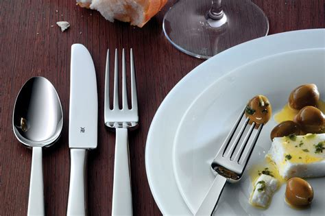 wmf royal stainless steel flatware set  piece cutlery