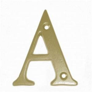 brass 10cm letters brass letters 10cm individual house With individual metal letters