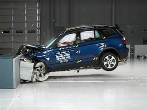 Bmw X3 2008 : 2008 bmw x3 moderate overlap iihs crash test youtube ~ Medecine-chirurgie-esthetiques.com Avis de Voitures