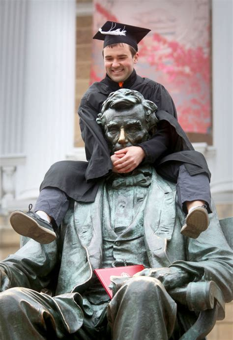 Madison Objects Bascom Hill Honest Abe