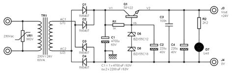 dc power supply power supply circuits