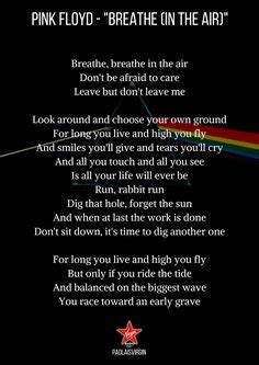 How to use poetry in a sentence. dark music quotes | Dark Side Of The Moon - Pink Floyd | Music in 2019 | Pink Floyd, Pink floyd ...