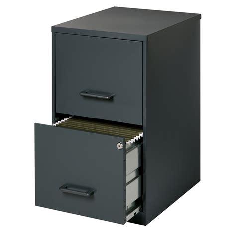 Black File Cabinet 2 Drawer by 2 Drawer Letter File Cabinet In Black 14341