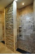 Photo Stone Tile Bathrooms Bathrooms Spas And Stone Tile Showers Traditional Bathroom