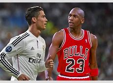 'Cristiano Ronaldo is like Michael Jordan' Escriba