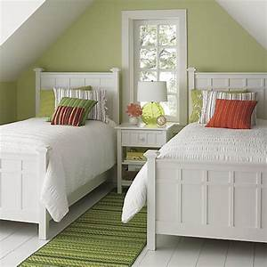 22 guest bedrooms with captivating twin bed designs for Twin bed ideas