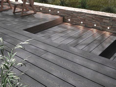 lame de terrasse composite grise quot brico quot l 2 40 m x l 14 5 cm x 201 p 24 mm brico d 233 p 244 t