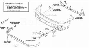 Gc V Front Bumper Conversion Subaru Impreza Parts Diagram