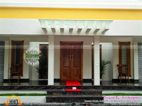 Finished House, Floor Plan And Interiors  Kerala Home