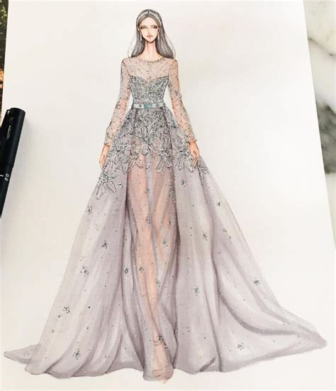 Fashion Design Dresses by Best 25 Dress Design Sketches Ideas On